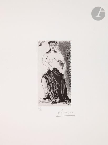 Pablo Picasso (1881-1973) Une maja posant...