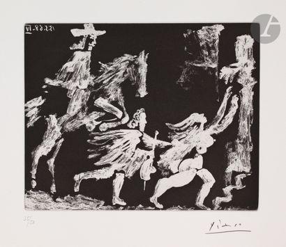 Pablo Picasso (1881-1973) Cape et épée:...