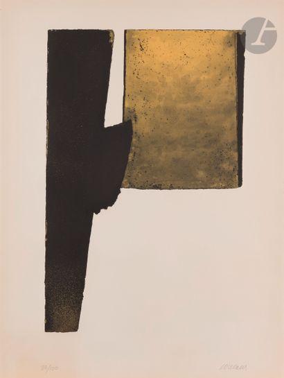 Pierre Soulages (né en 1919) Eau-forte XXXI....