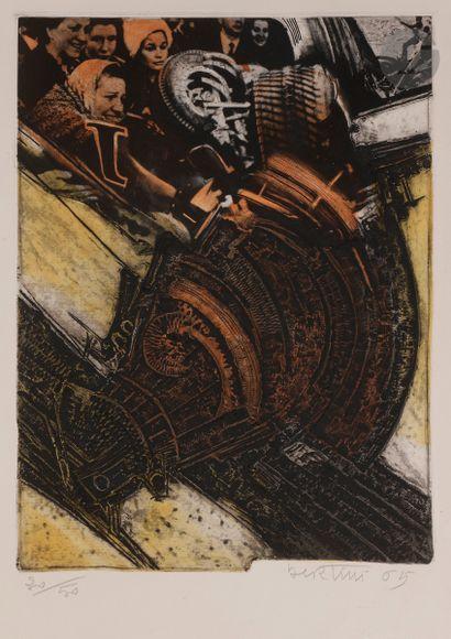 Gianni Bertini (1910-2002) L'Accident. 1965....