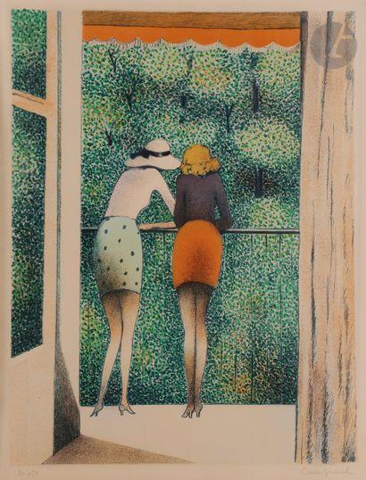 Jean-Pierre Cassigneul (né en 1935) Les Deux...