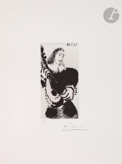 Pablo Picasso (1881-1973) La Sérénade. (Les...