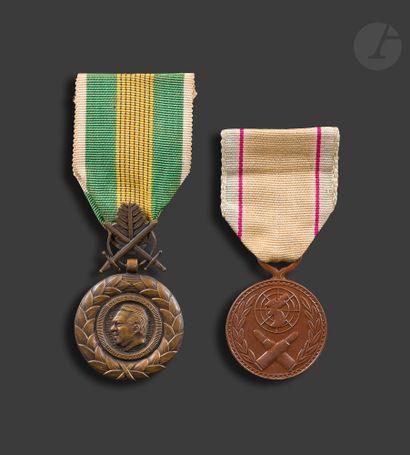 VIETNAM - CORÉE - Médaille du mérite militaire...
