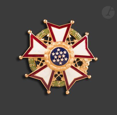 U.S.A. LEGION OF MERIT Plaque de commandeur...