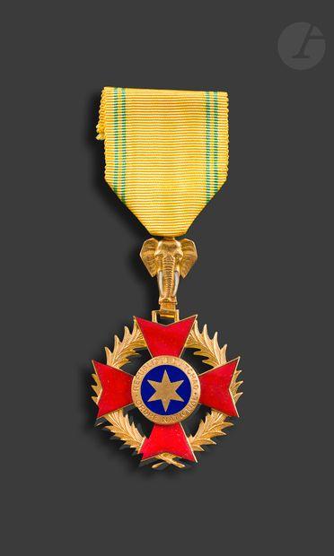 TCHAD ORDRE NATIONAL Croix de chevalier en...