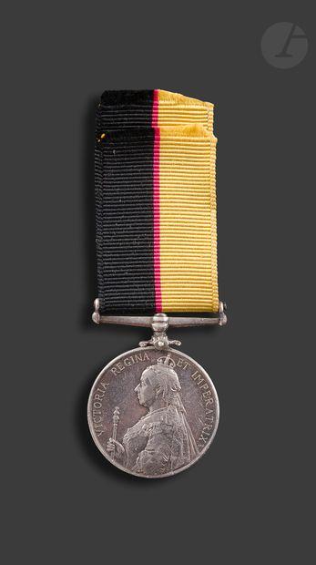 GRANDE BRETAGNE QUEEN'S SUDAN MEDAL (1896-1898)...
