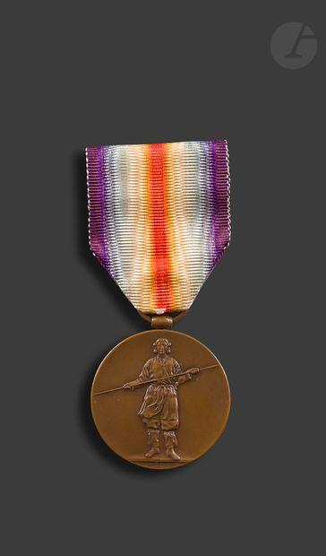 JAPON Médaille interalliée, modèle officier...