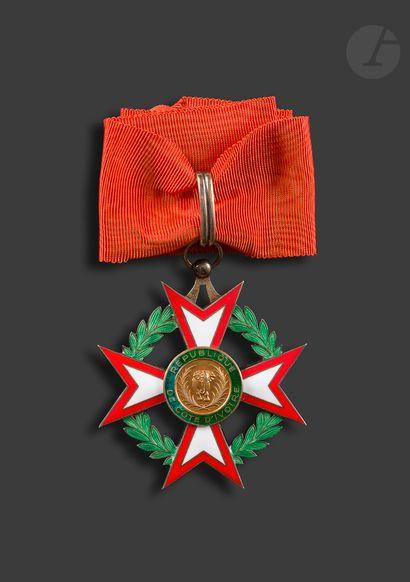 CÔTE D'IVOIRE ORDRE NATIONAL Étoile de commandeur...