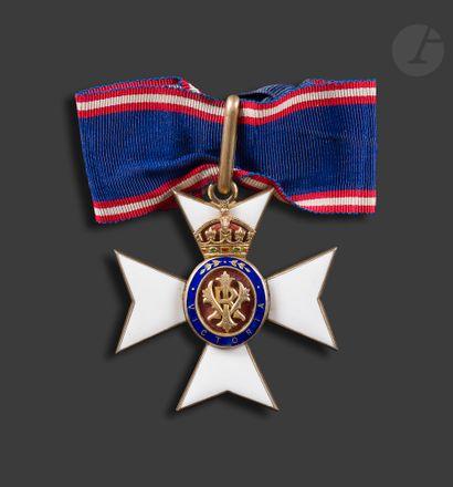 GRANDE-BRETAGNE ORDRE DE VICTORIA Croix d'«...