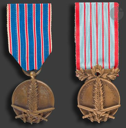LIBAN Deux médailles « POUR LE LIBAN 1926...