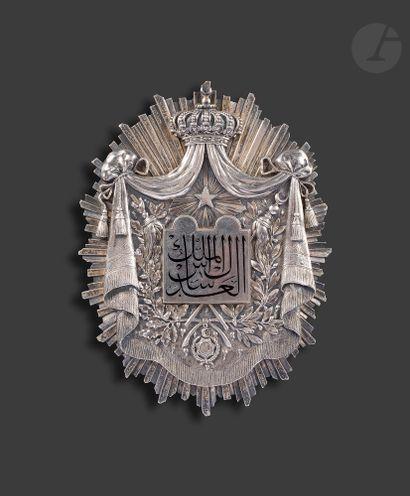 ÉGYPTE Grand insigne de juge de tribunal...