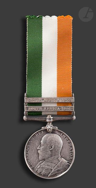 GRANDE-BRETAGNE KING'S SOUTH AFRICA Medal...