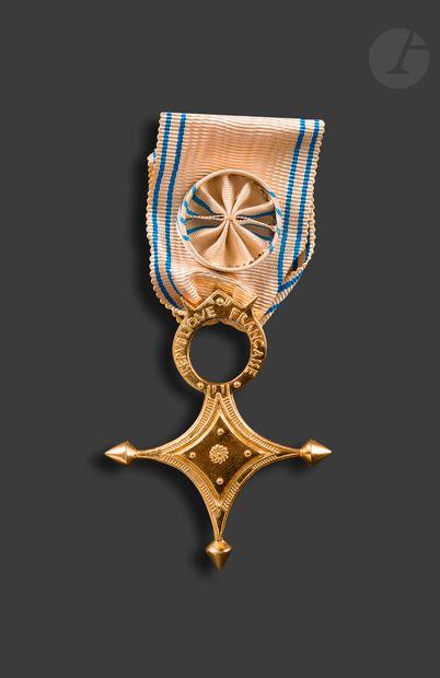 FRANCE ORDRE DU MÉRITE SAHARIEN Croix d'officier...