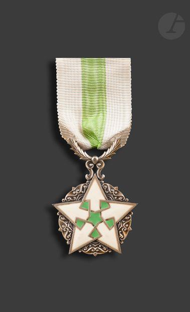 SYRIE ORDRE DU MÉRITE SYRIEN Étoile chevalier....