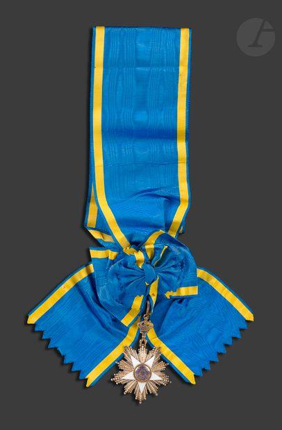 EGYPTE ORDRE DU NIL Ensemble de Grand-croix...