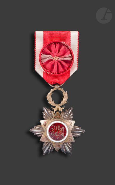 MAROC ORDRE DU OUISSAM HAFIDIEN Étoile d'officier...