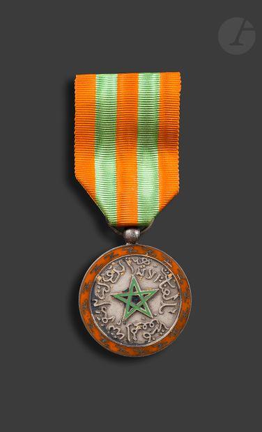 MAROC Médaille d'honneur de la Police Chérifienne...