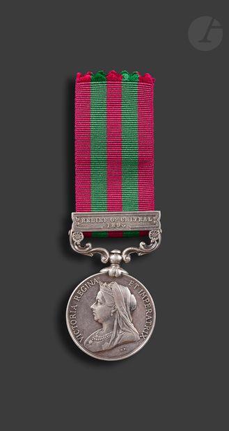 GRANDE-BRETAGNE INDIA Medal En argent. Attribuée...