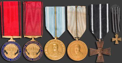 U.S.A. Ensemble de cinq médailles commémoratives...