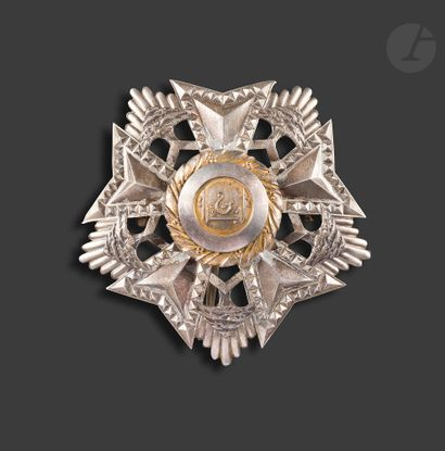 LIBAN ORDRE DU CÈDRE Plaque de grand officier...