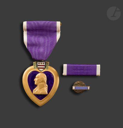 U.S.A. PURPLE HEART Décoration du Caporal...