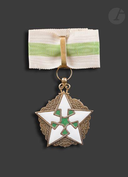 SYRIE ORDRE DU MÉRITE CIVIL Croix de commandeur....