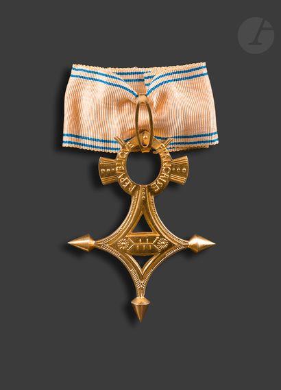 FRANCE ORDRE DU MÉRITE SAHARIEN Croix de...