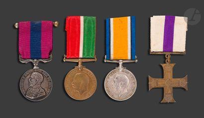 GEORGES V Quatre médailles : - MILITARY...