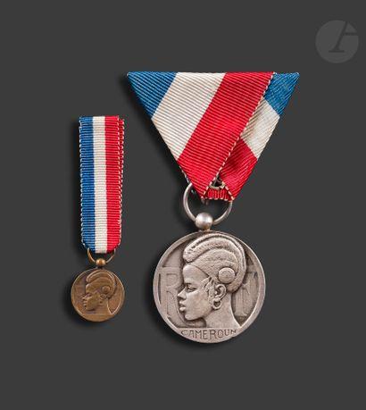 CAMEROUN ORDRE POUR LE MÉRITE INDIGÈNE Médaille...