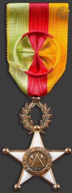 CAMEROUN ORDRE DE LA VALEUR, fondé en 1959...