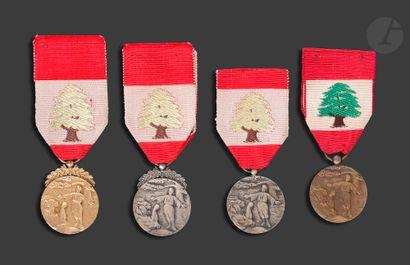 LIBAN Ordre du Mérite Libanais Ensemble des...