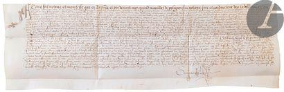 [JURA]. [POLIGNY]. [BRAINANS]. Lettres d'acquisitions...
