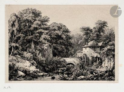 Eugène Bléry (1805-1886) Le Moulin de la...