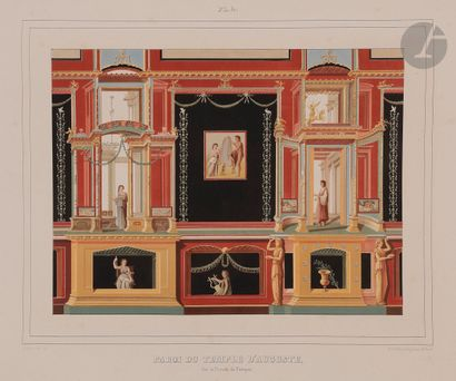 Miscellaneous [Pompeii]. Choice of paintings of Pompeii / most of them of historical...
