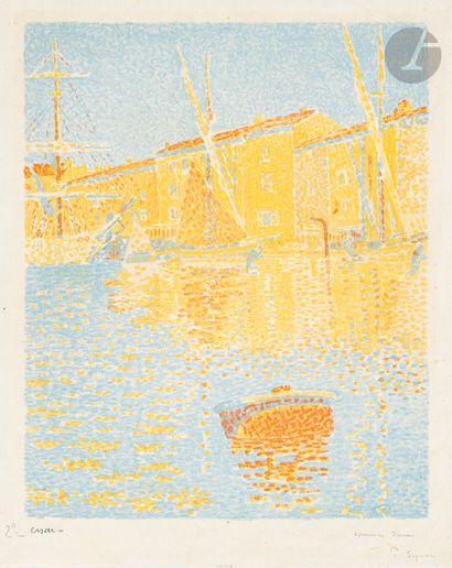 Paul Signac (1863-1935) La Bouée (Saint-Tropez)....