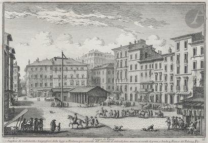 Giuseppe Vasi (1710-1782 Vues de Rome: églises;...