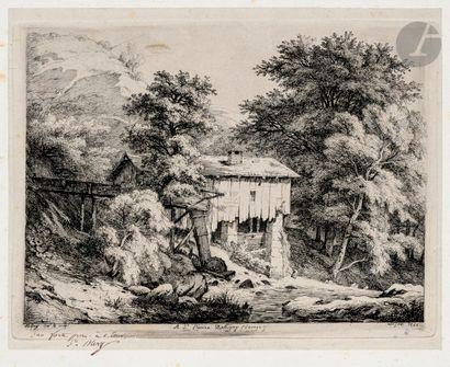 Eugène Bléry (1805-1886) À St-Pierre d'Albigny...