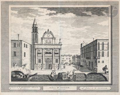 Vues de ville [Venise]. Vue de la Zecque...