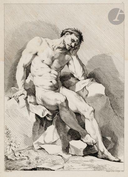 Charles-Joseph Natoire (1700-1777) (d'après)...