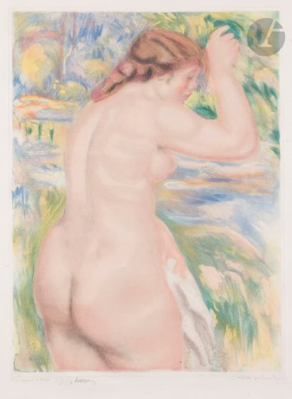 Pierre-Auguste Renoir (1841-1919) Baigneuse....