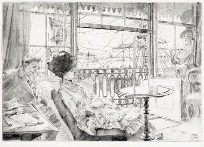 James-J.-J. Tissot (1836-1902) Ramsgate....