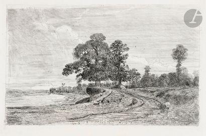Louis Cabat (1813-1892) L'Étang de Ville-d'Avray....