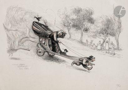 Jean Veber (1864-1928) Barbouillotte ou Le...