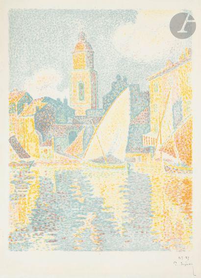 Paul Signac (1863-1935) Saint-Tropez, le...