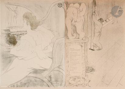 Henri de Toulouse-Lautrec (1864-1901) Couverture...