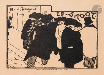 Félix Vallotton (1865-1925) Les Amateurs...
