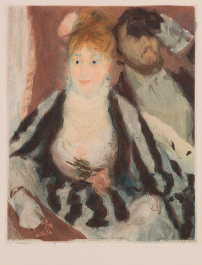 Pierre-Auguste Renoir (1841-1919) La Loge....