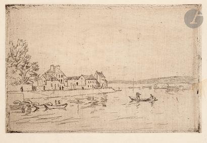 Alfred Sisley (1839-1899) Bords du Loing,...