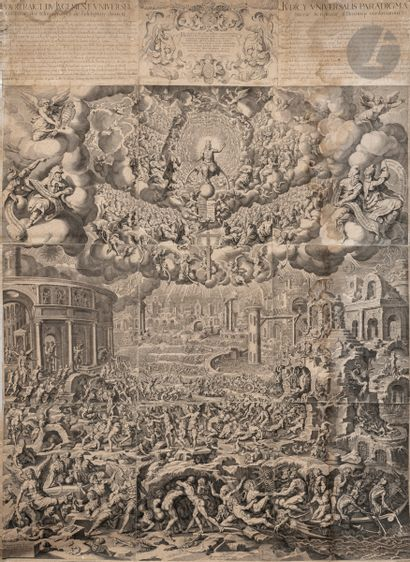 Peter de Jode I (1570-1634) Le Jugement dernier....
