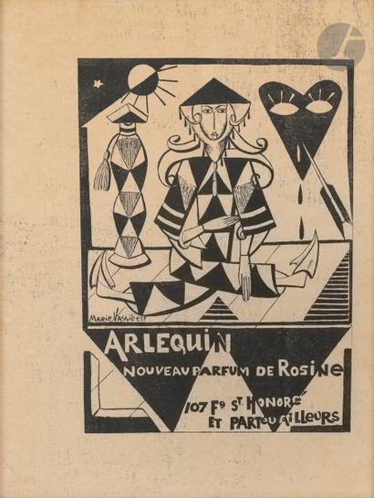 Marie Vassilieff (1885-1957) Arlequin nouveau...